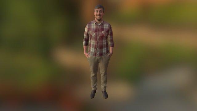 Dan 3D Scan 3D Model