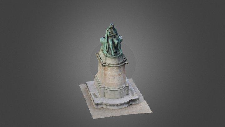 """69 - SOL - Oblique - """"Lamarck"""" 3D Model"""