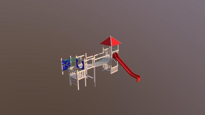 Soldatenfestung 3D Model