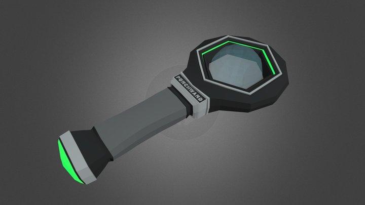 MANDO VR 3D Model