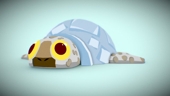 #3December-Igloo #7 | Turtlegloo 3D Model