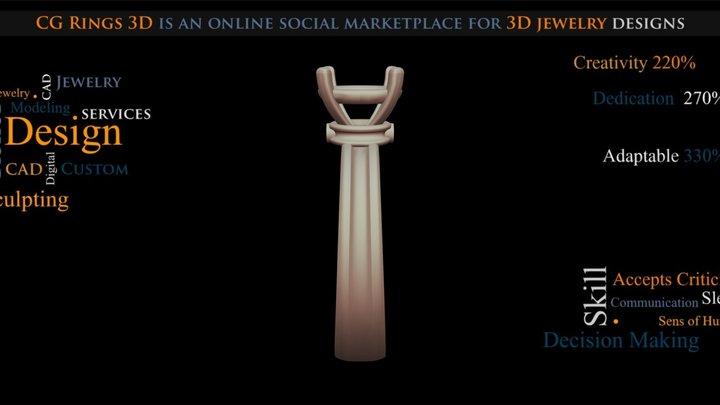 Jewel Ring Free 3D Model