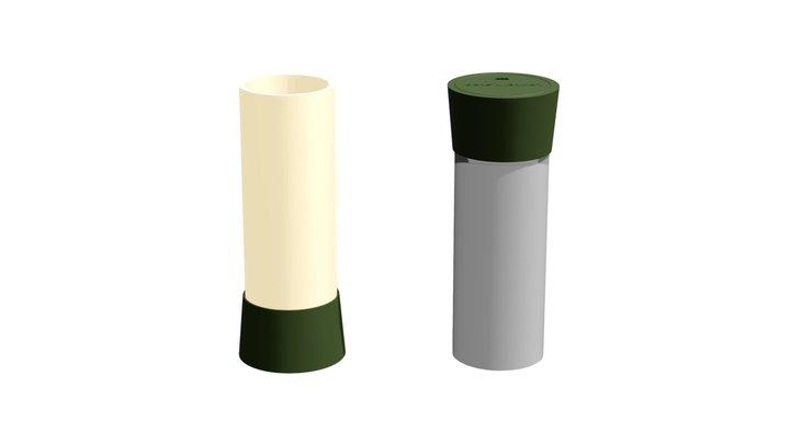 Lantern.step Kaki by .step 3D Model