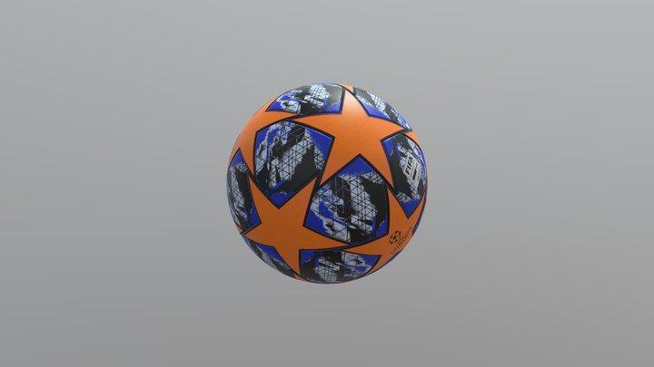 Adidas Womens 2020 Finale Champions League 3D Model