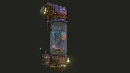 The Travelling Fishtank (Borderlands Inspired) 3D Model