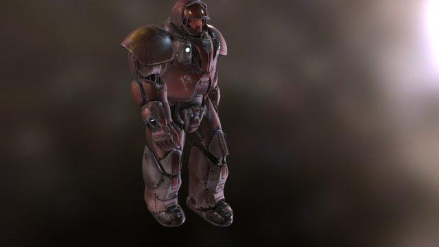 Space Marine 3D Model