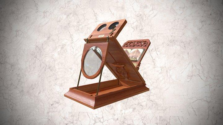Visor estereoscópico Grafoscopio 3D Model