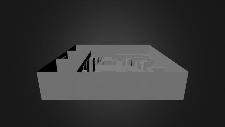 Comic Store 3D Model