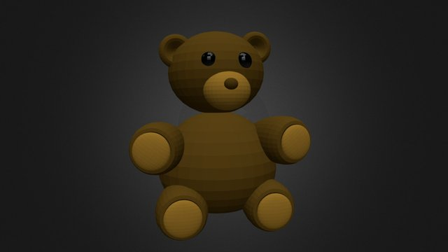 Bear game asset 3D Model