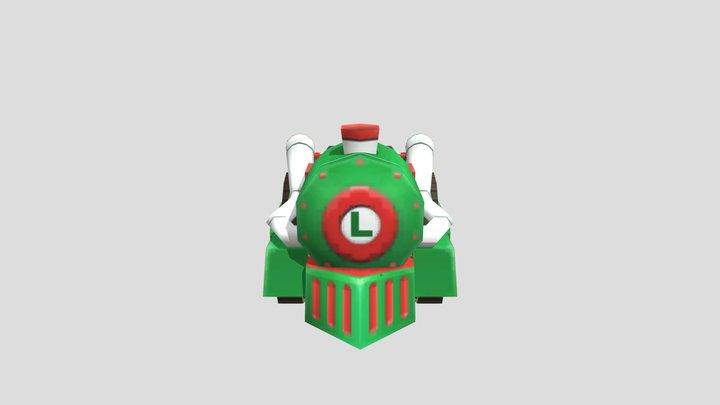 Arcade - Mario Kart Arcade GP 2 - L- Train 3D Model