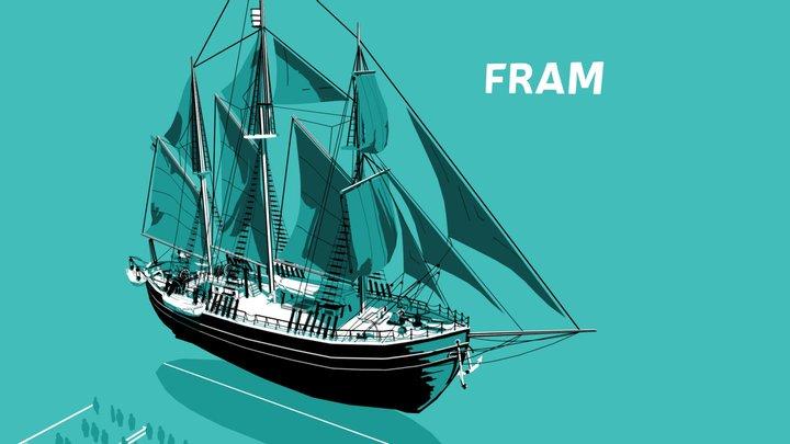 Fram 3D Model
