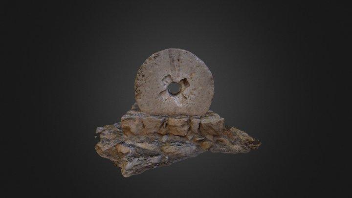 Rueda de cañón 3D Model