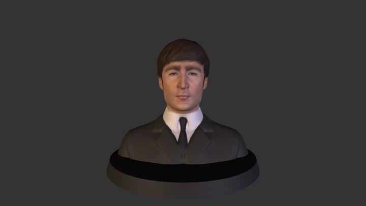 John Lennon 3D Model