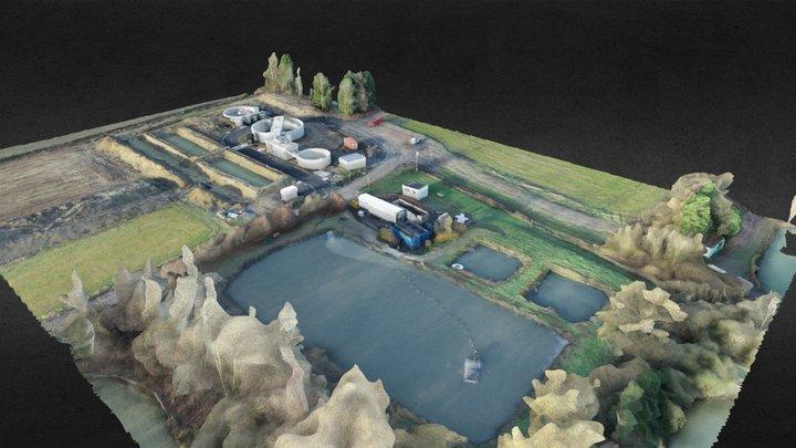 Aubers - Bois Leval 2020 levé 1 3D Model