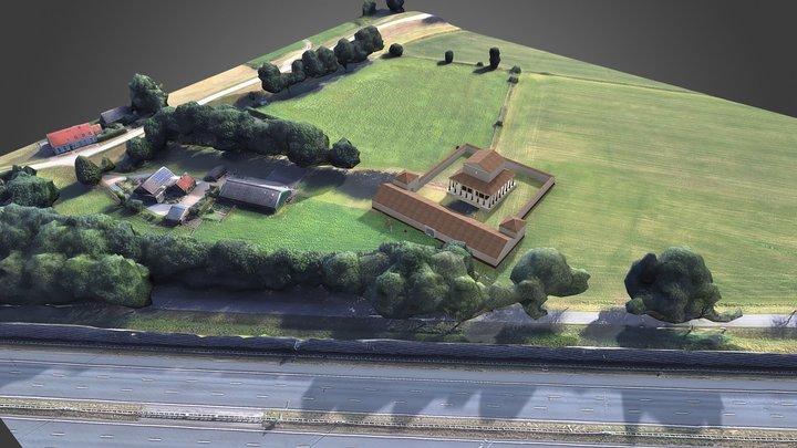 223 Tempel van Empel 's-Hertogenbosch 3D Model