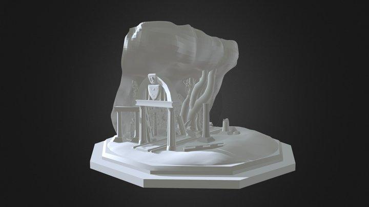 Undertale - Ruins Entrance (No texture) 3D Model