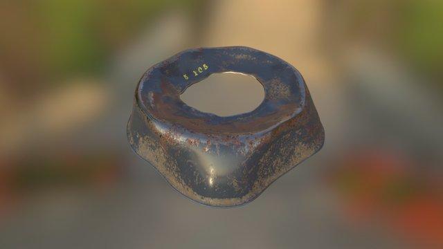 Metal Cap 3D Model