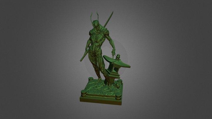 帝国ライダー 3D Model