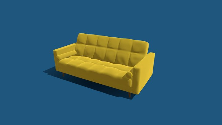 Sofa IKEA Askesta 3D Model