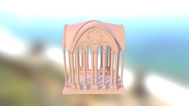 Gotic Arc Final 3D Model