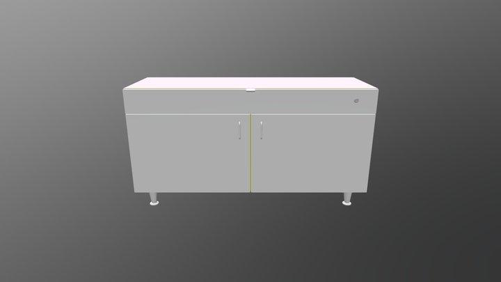 102602 WITH DOORS 3D Model