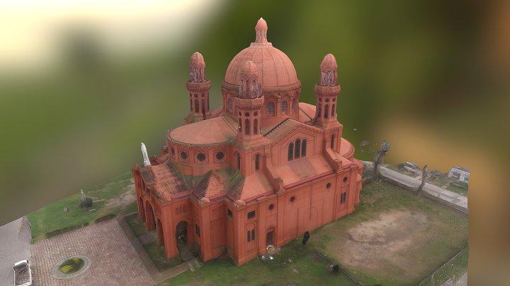 Santuario Nacional del Corazón de Jesús 3D Model