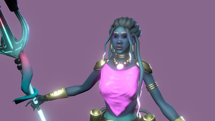 Overwatch Character Brief- Olepea 3D Model