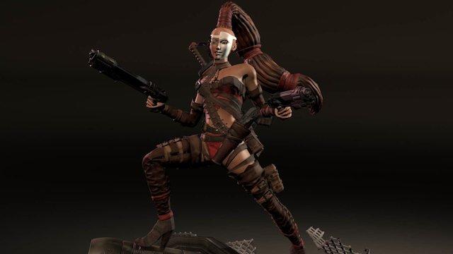 Ingrid 3D Model