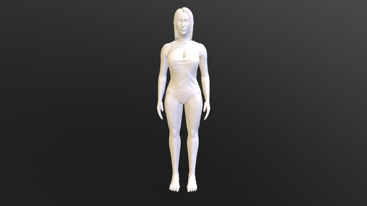 Woman 3D Model:Marie 3D Model