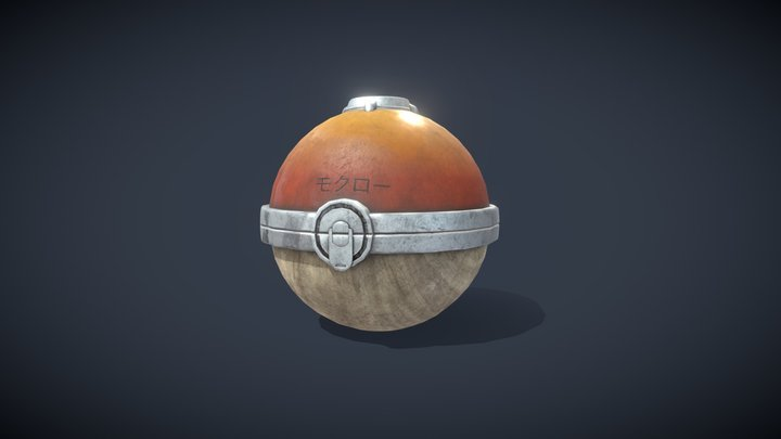 Feudal Pokeball 3D Model