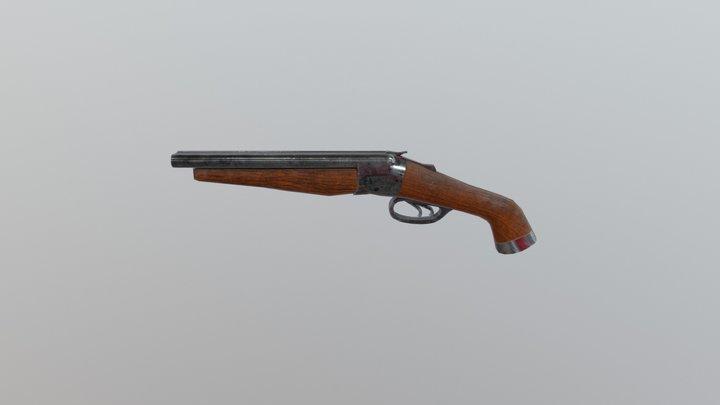 Weapon Obrez 3D Model