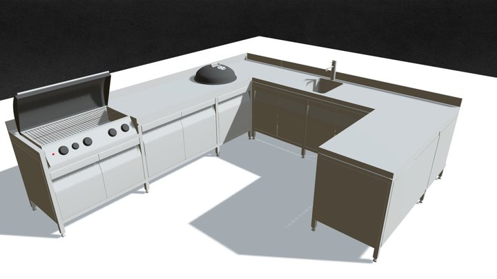 gril 3D Model