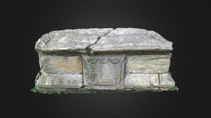 Huntsman's Tomb, St Lawrence Church, Warkworth 3D Model