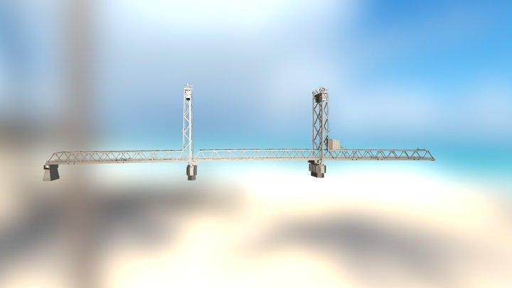 Memorial Bridge 3D Model