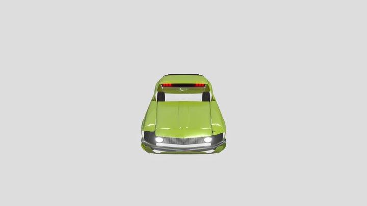 1969 Ford Mustang BOSS 302 (WIP) 3D Model