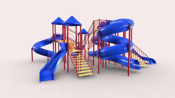 Giant Children's slides 3D Model