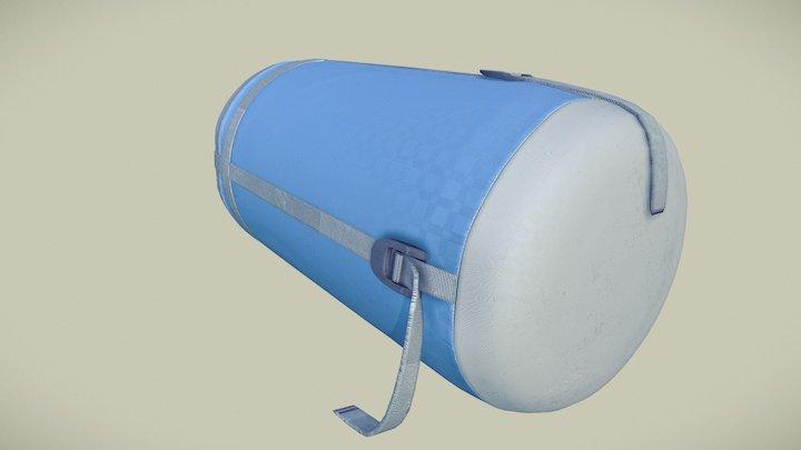 Sleeping Bag - Packed 3D Model