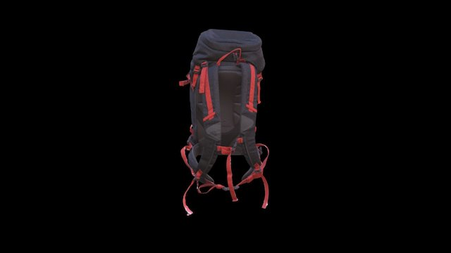 2M_Backpack 3D Model