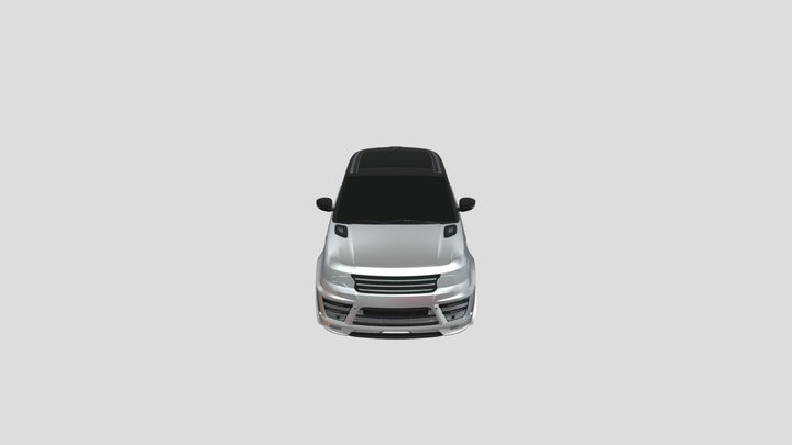 Range Rover  .Blender 3D Model