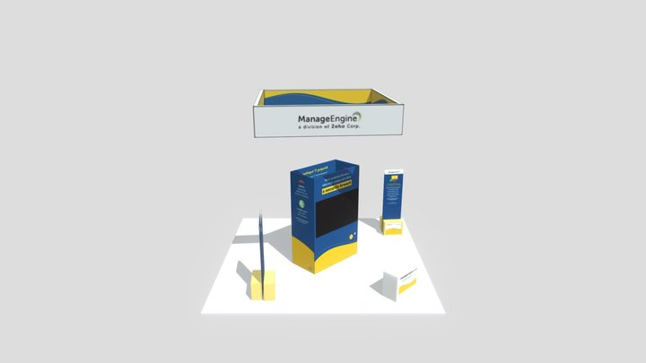 RSA 2020 _ME Blue theme 3D Model
