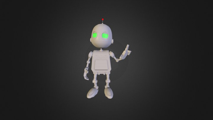 Clank 2 3D Model