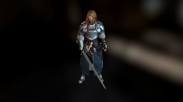 General Beatrix (Final Fantasy IX) 3D Model