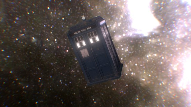 TARDIS 3D Model
