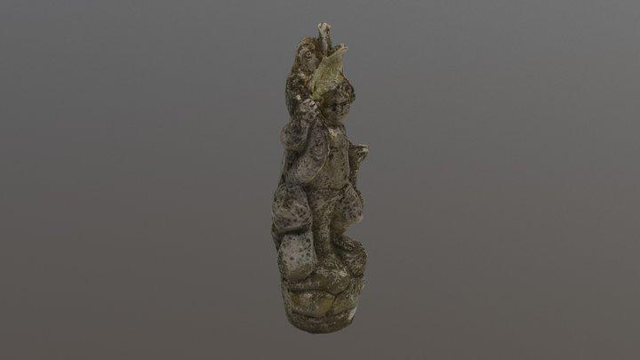 Statua in pietra 3D Model