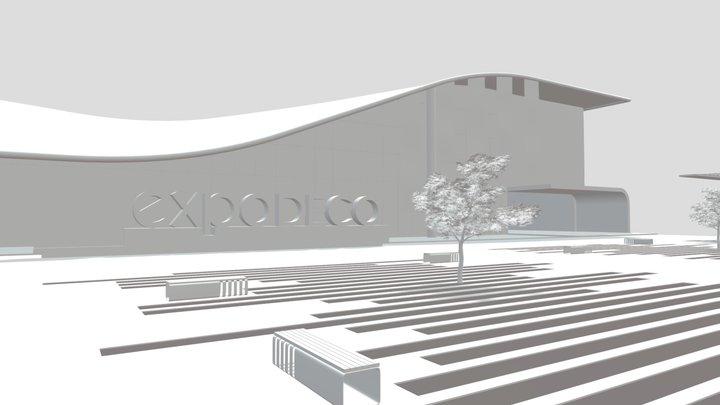 EXPODECO 2020 3D Model
