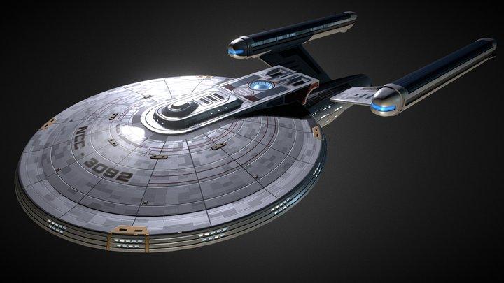 Lexington Class 3D Model