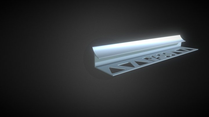 Profil Angle Rentrant 3D Model