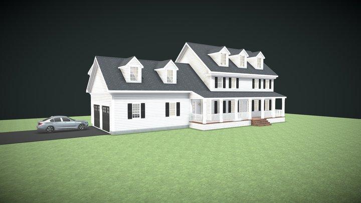 Conceptual Home Model 3D Model