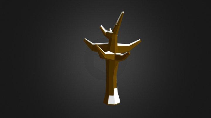 Poly Tree 03 3D Model