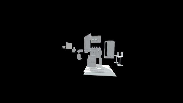 Explosoionado 3D Model